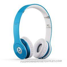 Beats By Dre Solo HD Headphones (Light Blue)
