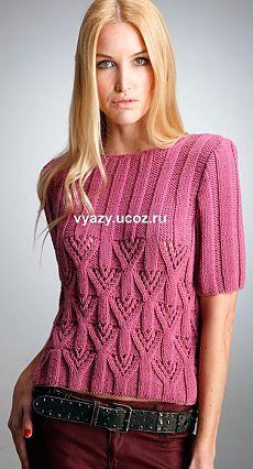 ideas for knitting crochet pink Knitting Blogs, Lace Knitting, Knitting Stitches, Knitting Designs, Knitting Patterns Free, Knit Patterns, Free Pattern, Knit Fashion, Pulls