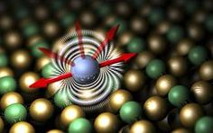 Researchers have been able to modify the magnetic orientation of a single atom, the mechanism that determines its magnetic stability and the...
