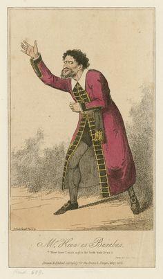 Mr. Edmund Kean as Barabas (1818)