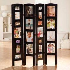 Photo Frame Room Divider.