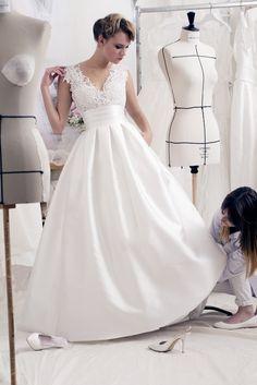 Robe de mariée Anouk disponible chez Plume Paris