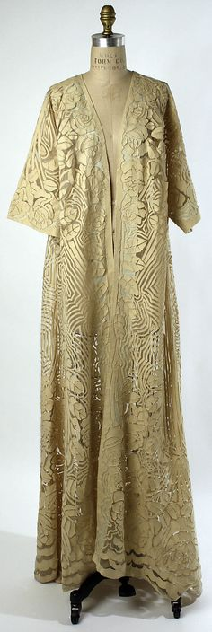 ~Negligée Date: 1909–10 Culture: French Medium: silk, wool~