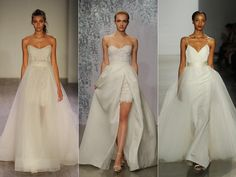 The 2016 Bridal Fashion Week Bridal Style Report for the 2016 Wedding Trends