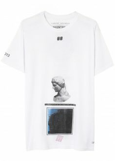 X Linda Farrow printed cotton T-shirt