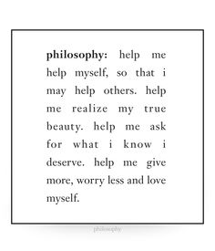 Can anyone help me on this philosophy?