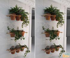Com espaços residenciais cada vez menores, os jardins verticais se mostram uma alternativa prática para quem ama jardinagem. Você pode instalar em qualquer ambiente, desde que tenha iluminação. Que tal?