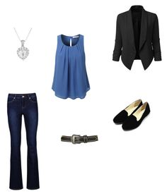 """""""Formal"""" by latyca on Polyvore featuring LE3NO and Topshop"""