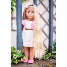 "Our Generation Phoebe 18"" Hair Play Blonde Doll image-5"