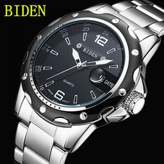 Reloj Hombre BIDEN Fashion Casual Business Men s Watches Top Brand Luxury  Quartz Watch Clock Male Relogio 6b7d39fb9a