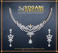 Our diamond jewelry collections features necklaces from basic to extraordinary. visit your favorite jewellery store in vaishali nagar, jaipur Also visit online store : #soganijewellers4u.com