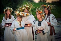 Today is the longest day of the year, what better way to kick off summer than with the Polish customs of Kupala Night? ☀