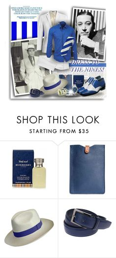 """DRESS TO THE NINES"" by angelflair ❤ liked on Polyvore featuring N'Damus, Emporio Armani, men's fashion and menswear"