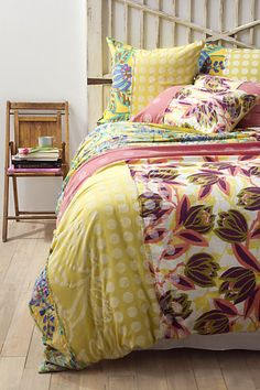 Orlina Duvet Cover #anthropologie ... I WANT THIS