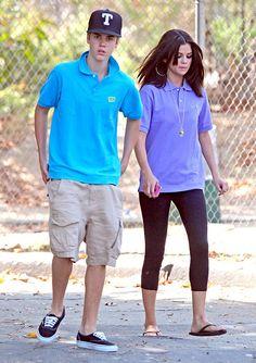 Justin Bieber and Selena Gomez weird photo
