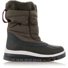 Adidas by Stella McCartney Weekender Hiker shell and rubber ski boots (€130) ❤ liked on Polyvore featuring shoes and boots