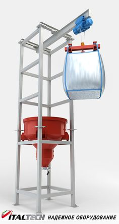 Big bag discharging station SR 1000 EA ITALTECH http://www.italtech.biz/products/oborudovanie-dlya-raboty-s-myagkimi-konteynerami-tipa-big-beg/stantsiya-rastarivaniya-sr-1000-ea-italtech/?utm_source=social&utm_medium=post&utm_campaign=regular_posting_eng  It is designed for unloading of fresh loose loose powdery materials and mixtures of fine and coarse fractions, such as cement, gypsum, sand, crushed stone, wood shavings, polystyrene granules, grain, mixed fodder, etc. from soft containers…