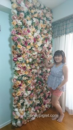 12-completed flower floral wall