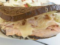 Turkey Reuben Sandwiches. Photo by mydesigirl