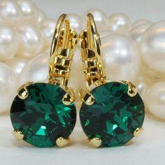 Go Emerald....gold finish...love!