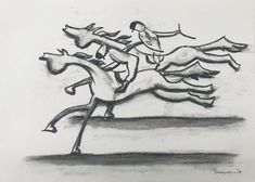 My drawing in The Horse exhibition at Darren Knight Gallery. Darren Knight, My Drawings, Horses, Sculpture, Gallery, Artist, Horse, Sculpting, Statue