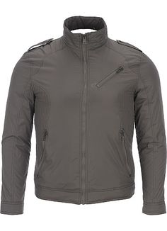 Rivet Nylon Moto Jacket