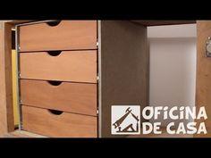 Gaveteiro com gavetas recicladas - YouTube