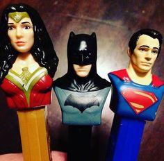 12 Batman Vs. Superman Pez, Each With 2 Packs Of 6 Rolls Pez Candy Refills
