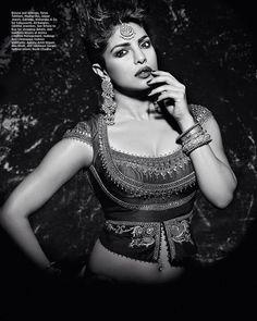 Priyanka Chopra cover of #HarperBazarbride more pictures.