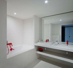 carrelage vert d\'eau | Salle de bain | Pinterest