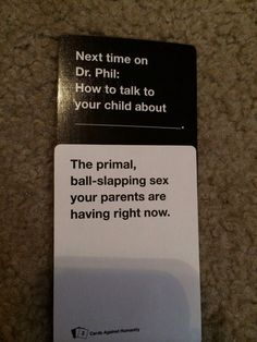 """*shudder*   24 Times """"Cards Against Humanity"""" Was Too Real"""