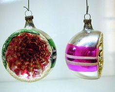 anciennes boules de noel en verre vintage christmas glass ornaments 6 1 j 39 ai d j eue a. Black Bedroom Furniture Sets. Home Design Ideas