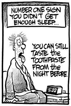 Sleep test.
