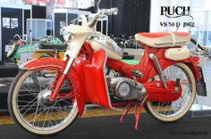 Puch VS 50 D  1962 Puch Moped, Moped Motorcycle, Scooter Bike, Motor Scooters, Vespa Scooters, 50cc, Harley Davidson Bikes, Sidecar, Cars And Motorcycles
