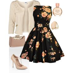 Inspired by the 50s by lisamur on Polyvore featuring polyvore, fashion, style, Vero Moda, Gucci, Accessorize, Dorothy Perkins, Estée Lauder and clothing