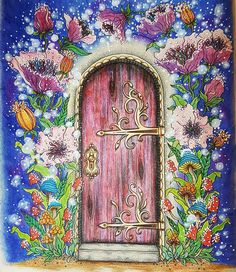 """100 Likes, 15 Comments - Belladonna (@belladonna30) on Instagram: """"My magic door from my beautoful summer nights book by hanna karlzon I used a mixture of magic…"""""""