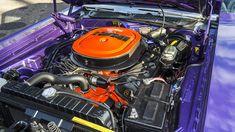 1970 Dodge Hemi Challenger R/T - 6 Hemi Engine, Motor Engine, Dodge Hemi, Challenger Rt, Steel Wheels, Automatic Transmission, Engineering, Auction, Classic