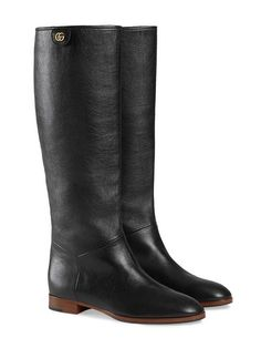dc7c5507a55 Gucci Leather Boot - Farfetch Buy Gucci, Shoes Heels Boots, Heeled Boots,  Leather