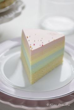 Rainbow Cheesecake. Why haven't I tried this yet?