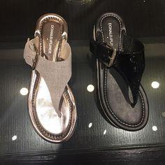 Laid-back weekends + dressed-up flip flops ✨@donaldjpliner #flipflops #sandals #shoes #patentleather #summershoes #metallic #donaldjpliner #DJPstyle #nordstrom @pixxyapp