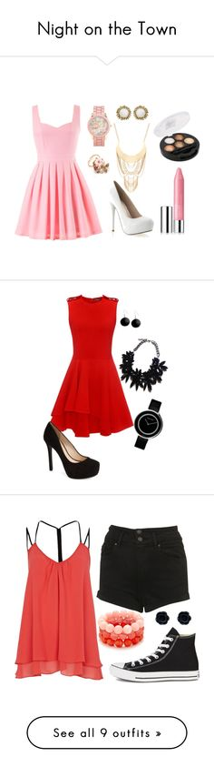 """Night on the Town"" by geoff-no on Polyvore"