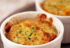Soufflé léger au thon et aux courgettes WW, recette d'un bon soufflé salé et bien gonflé facile à réaliser et parfait à servir chaud à la sortie du four