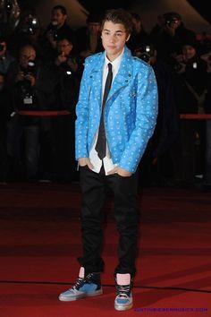 Justin Bieber NRJ Music Awards 2012
