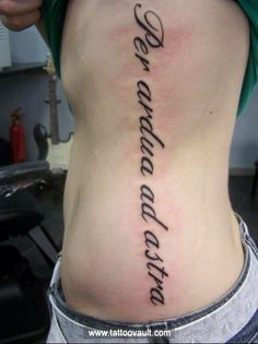 1000 images about rib tattoos on pinterest letter for Girly font tattoo