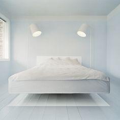 floor paint. White flight