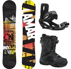 ce9359c235 Lamar Viper Complete Snowboard Package with Bindings and Flow Vega BOA  Men s Boots Board Size 158