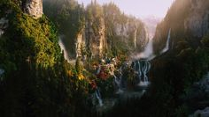 Rivendell, Where the Elves of Middle Earth live (Lord of the Rings)