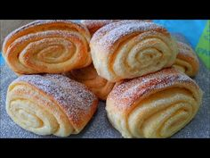 НЕ ПРОСТО БУЛОЧКИ, а НАСТОЯЩИЙ ДЕСЕРТ! Рецепт булочек к чаю. - YouTube Sweet Buns, Home Bakery, Pretzel Bites, Doughnut, Sausage, Sweet Tooth, Rolls, Bread, Snacks