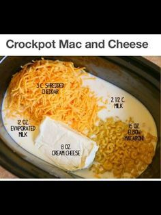 Ninja cooking system crockpot mac and cheese Crockpot Mac N Cheese Recipe, Mac Cheese Recipes, Crockpot Recipes, Cooking Recipes, Ninja Recipes, Easy Recipes, Oven Recipes, Budget Cooking, Party