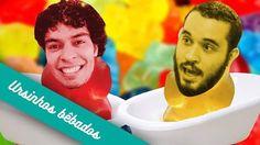 Vista sua melhor toalha e se prepara pro vídeo doce e fofinho de hoje! link no perfil #UmCanalAi #Drinkeria #drink #bebida #receita #recipe #cocktail #coquetel #birita #diy #triplesec #monin #gummybear #baladegoma #ursinhos by umcanalai http://ift.tt/1Z0BBHx